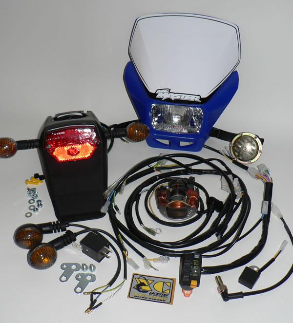 XC Dual Sport Kit - To Fit Yamaha YZ250F/400F/426F/450F